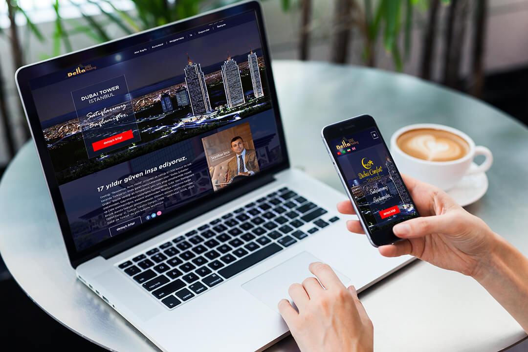 Web Tasarım Delta Holding