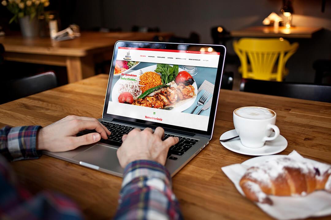 Anessa Yemek Web Sitesi Tasarımı