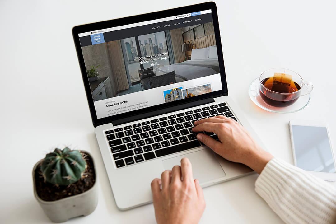 Grand Bagoz Otel Web Sitesi Tasarımı