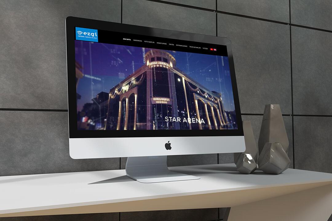 Web Tasarım - Ezgi Reklamevi