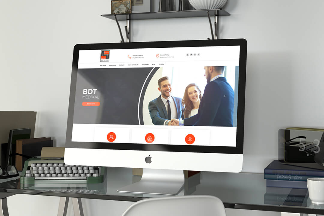 Web Tasarım BDT Medikal