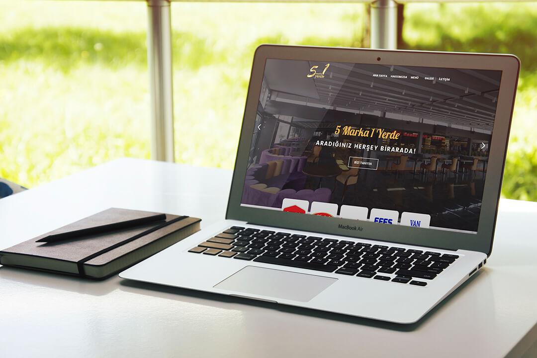 5 Marka 1 Yerde Web Tasarım