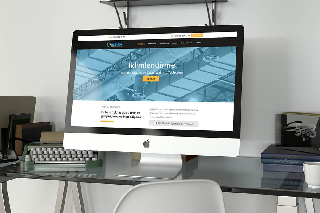 Web Tasarım EHK Mühendislik